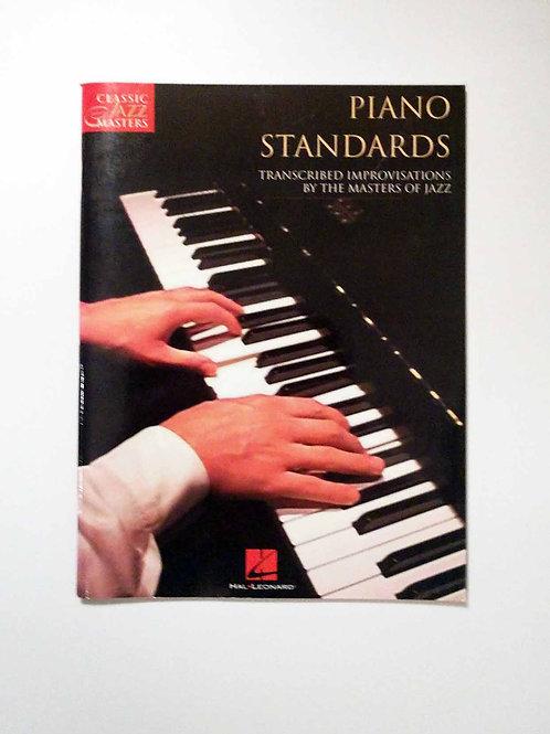 Piano Standards: Artist Transcriptions - Classic Jazz Masters