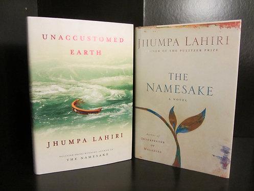 Pulitzer Prize Winner Jhumpa Lahiri Book Set