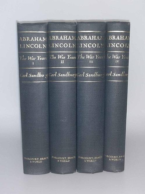 Abraham Lincoln: The War Years by Carl Sandburg