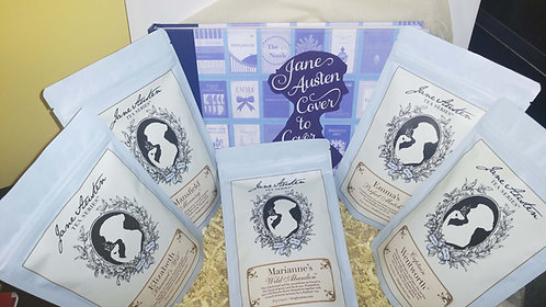 Jane Austen Cover to Cover - A Jane Austen Tea Gift Box
