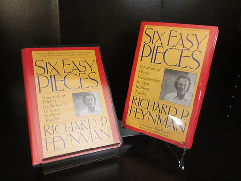 Six Easy Pieces by Richard Feynman Book and CD set