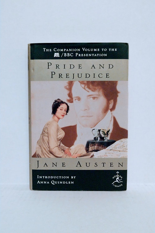 Pride and Prejudice (Modern Library) by Jane Austen