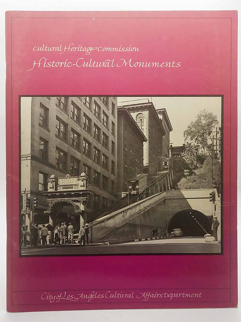 City of Los Angeles - Historic Cultural Monuments, 1-588