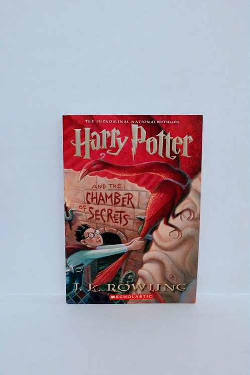 Harry Potter and the Chamber of Secrets by J.K. Rowling