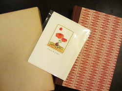 Miarts cards display #3 with cello sleeve