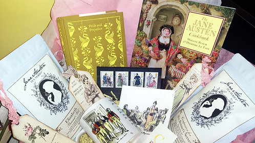 Mr. Wickham and the Officers - AJane Austen Gift Box