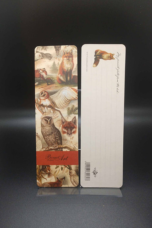Bookmarks - Bomo Art Fox & Owl