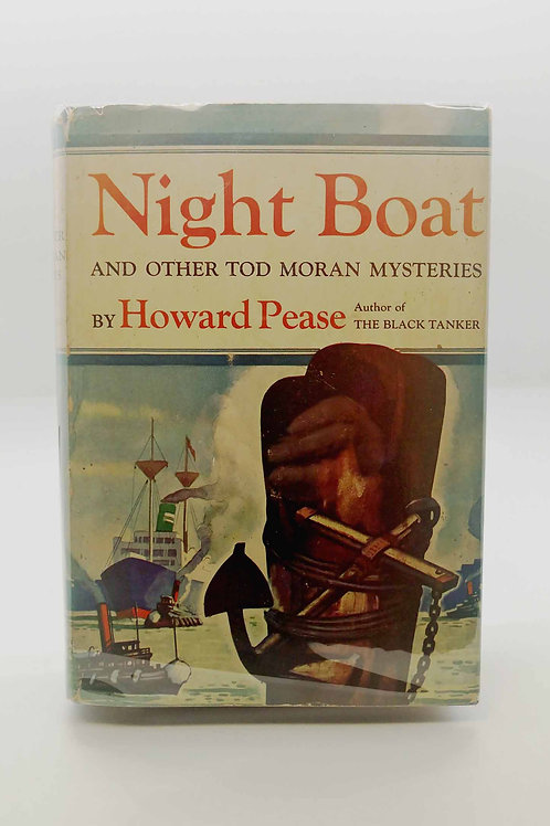 Night Boat And Other Tod Moran Mysteries by Howard Pease