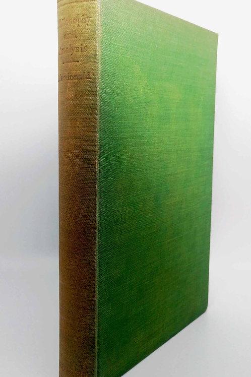 Philosophy and Analysis by MargaretMacDonald (Editor)
