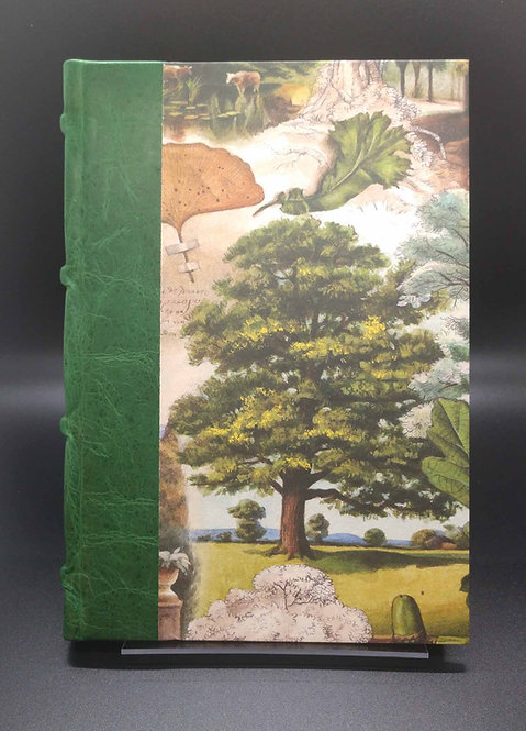 "Bomo Art Half-Leather Bound Journal ""Mysterious Life of Trees""  Cover"