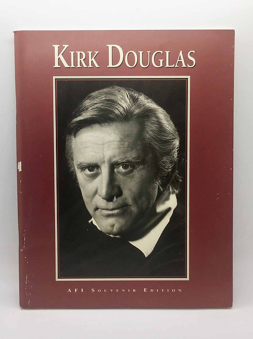 Kirk Douglas AFI Souvenir Edition