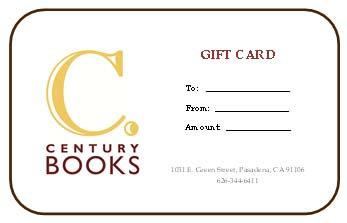 Century Books Gift Card
