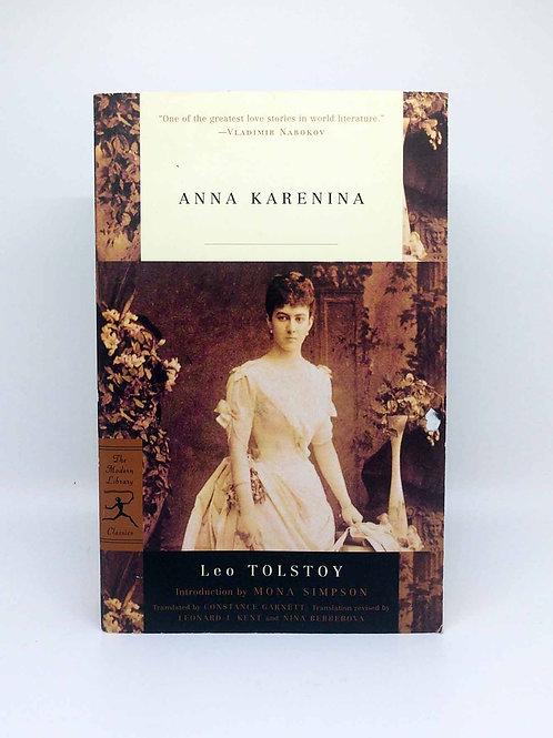 Anna Karenina (Modern Library Classics) by Leo Tolstoy