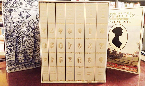 Complete Novels of Jane Austen published by Folio Society