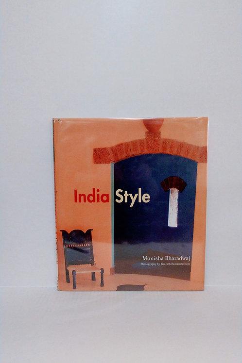 India Style Hardcover by Monisha Bharadwaj and Bhara