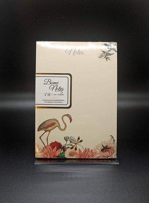 Bomo Art Flamingo Notepad