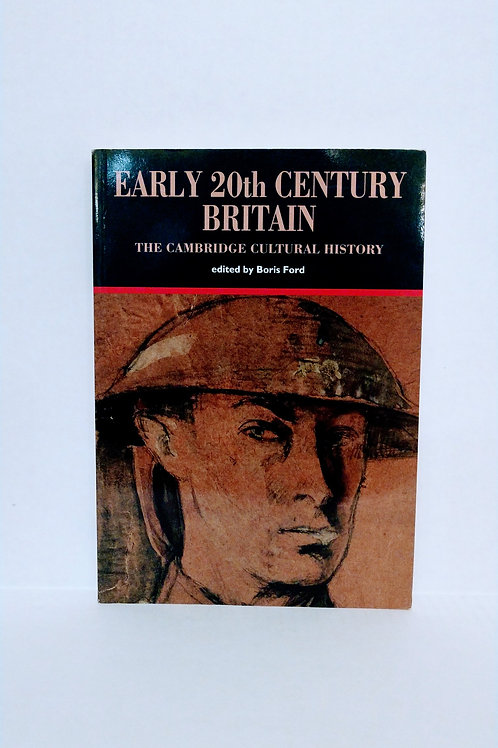 The Cambridge Cultural History of Britain: Volume 8, Early Twentieth-Century