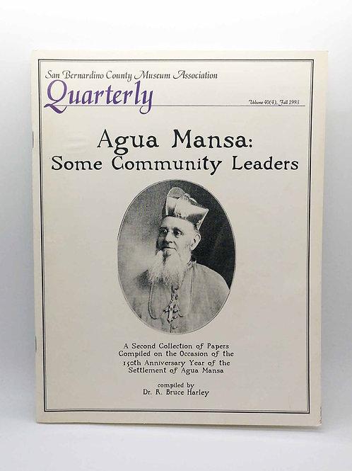 Agua Mansa Some Community Leaders