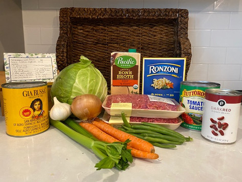 """A """"Souper"""" Friend's Italian Beef and Vegetable Recipe:"""