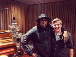 VIDEO: Recording Session with Bernard Fowler