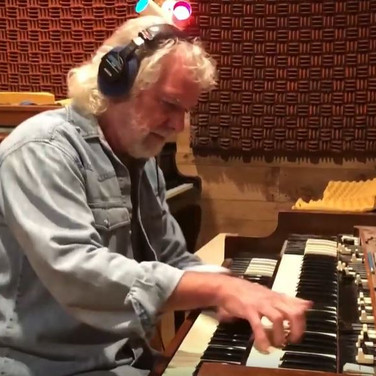 Recording Session with Chuck Leavell - The Chuck Leavel Project