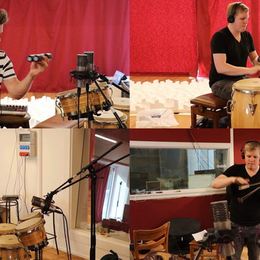 Drum Recording Sessions - The Chuck Leavel Project