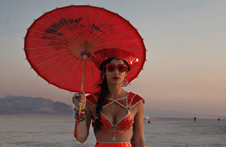 Scarlett Etienne - Burning Man 2014