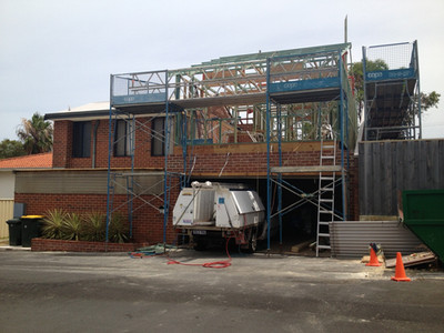 Mosman Park During Construction