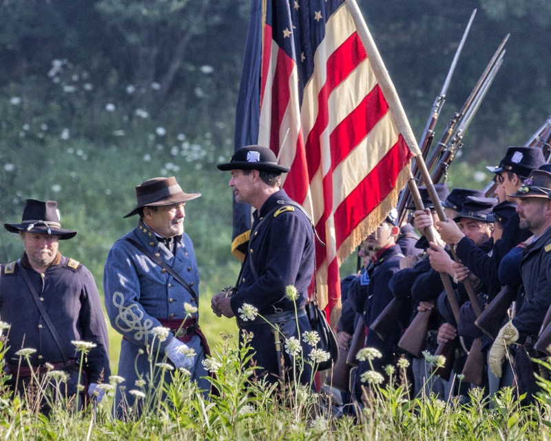 Civil-War-Reenactment-at-Hale-Farm-Village-3