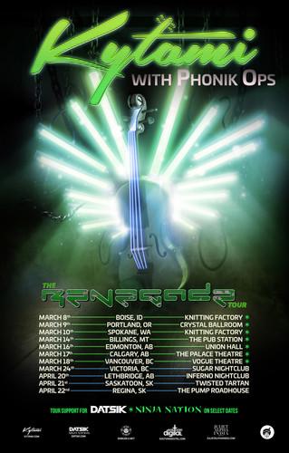 THE RENEGADE TOUR 2017