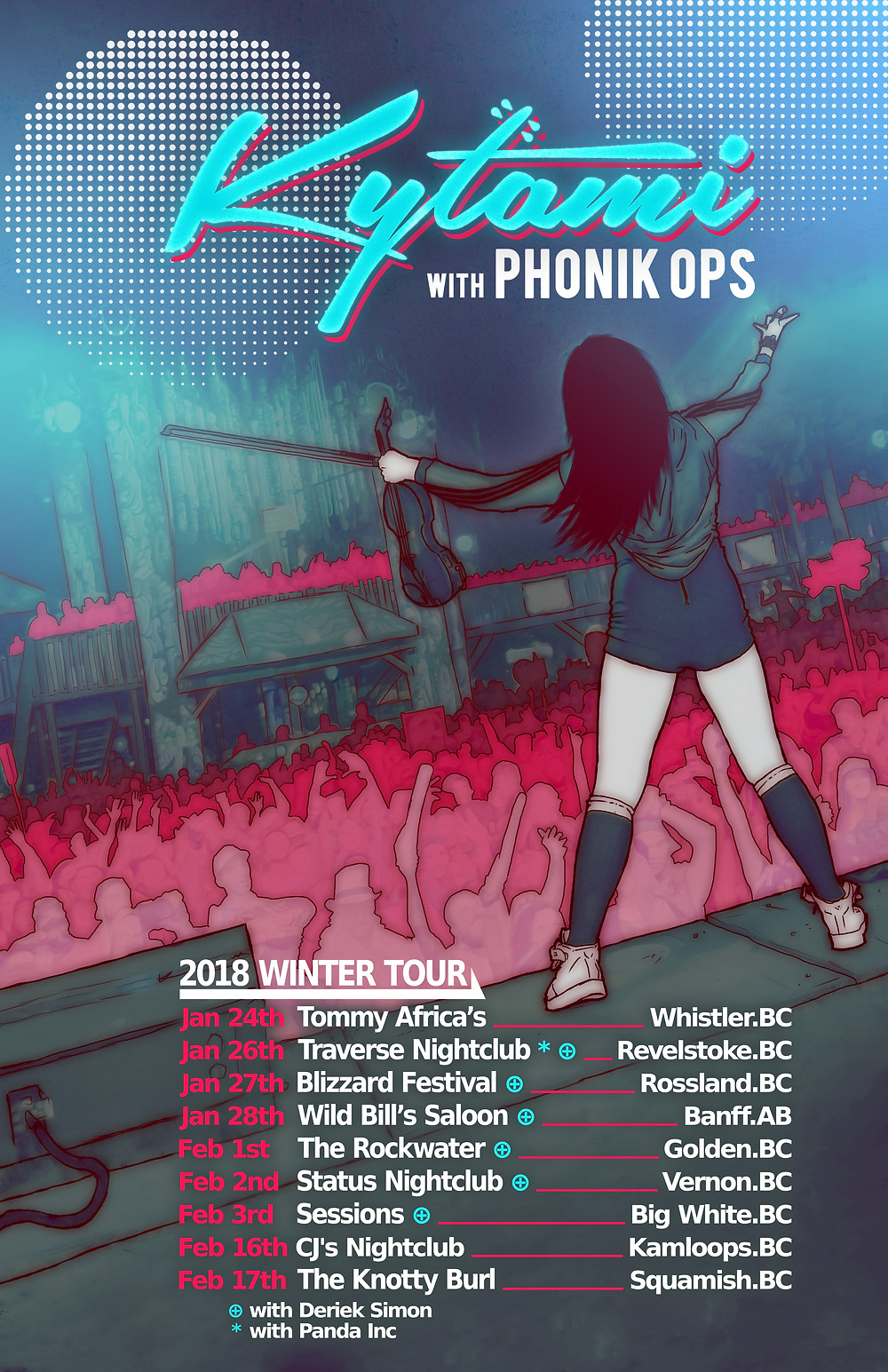 2018 Winter Tour with Phonik Ops