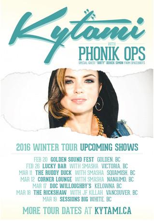 2016 WINTER TOUR