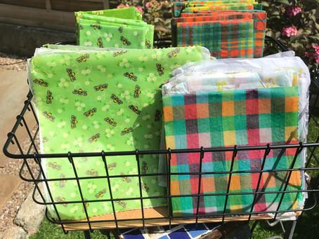 Plastic-free swap: beeswax wraps