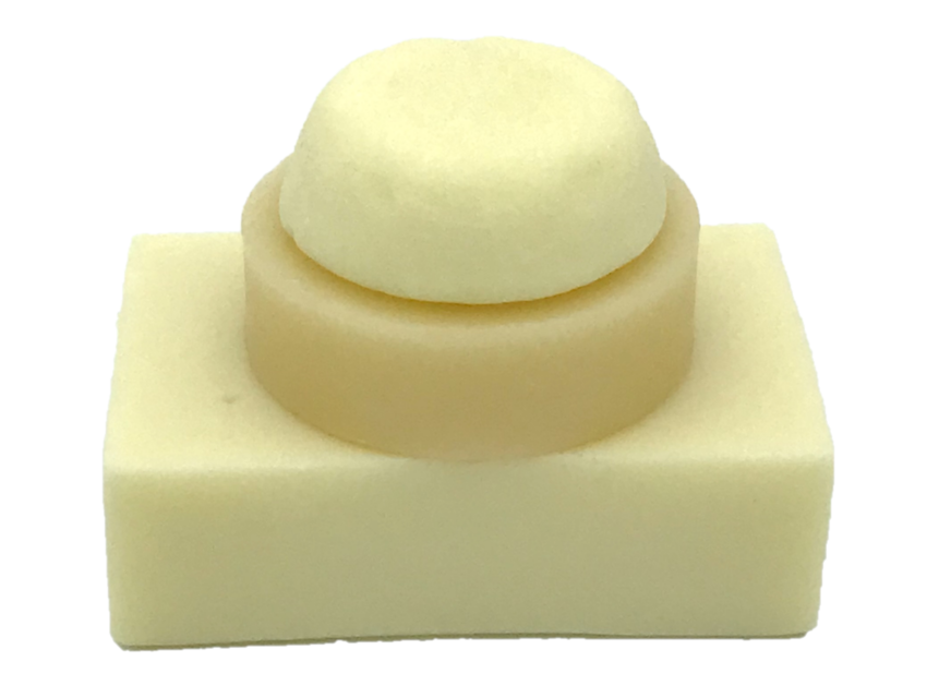 A stack of three conditioner bars