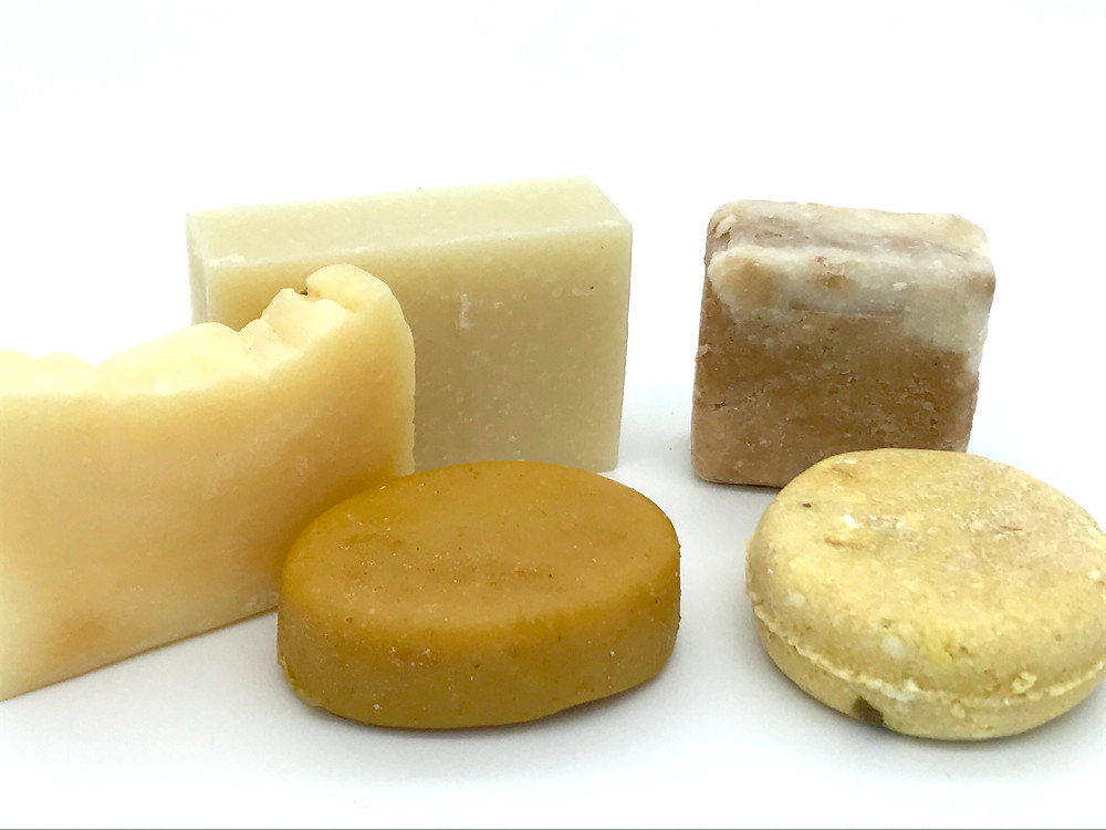 You can spot hair soap by their smooth, waxy texture. Solid shampoos often have a more matte appearance and grainy texture.