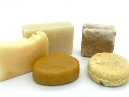 Plastic-free Swap: Shampoo & Conditioner Bars