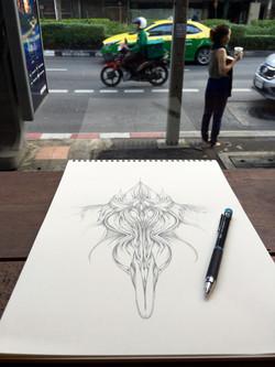 Field Sketch 14 - Context Shot