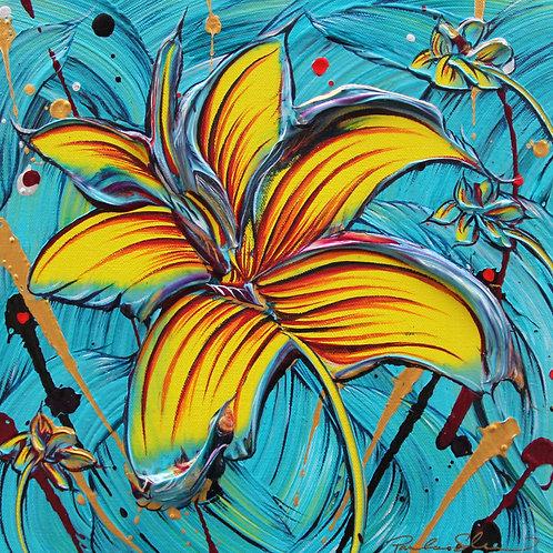 Unfolding Memories - 12x12 - Original Painting