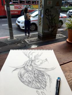 Field Sketch 13 - Context Shot