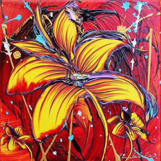 Unfolding Mysteries - 12x12 - Original Painting
