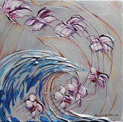 Evolution of Spirit - 12x12 - Original Painting