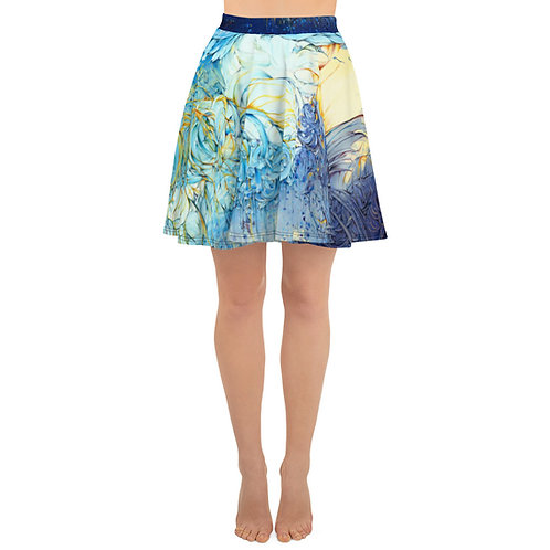 """""""Diving Into the Mystery - Limited Edition Skater Skirt"""