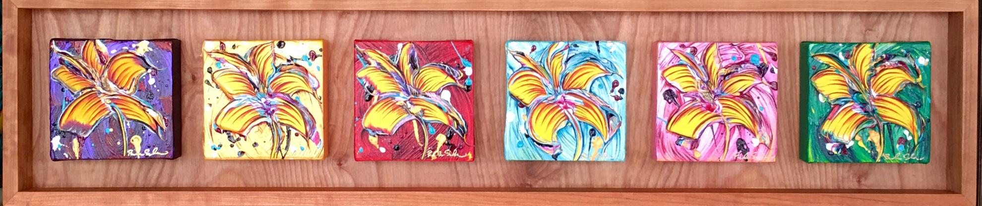 Shades of Aloha Framed Set