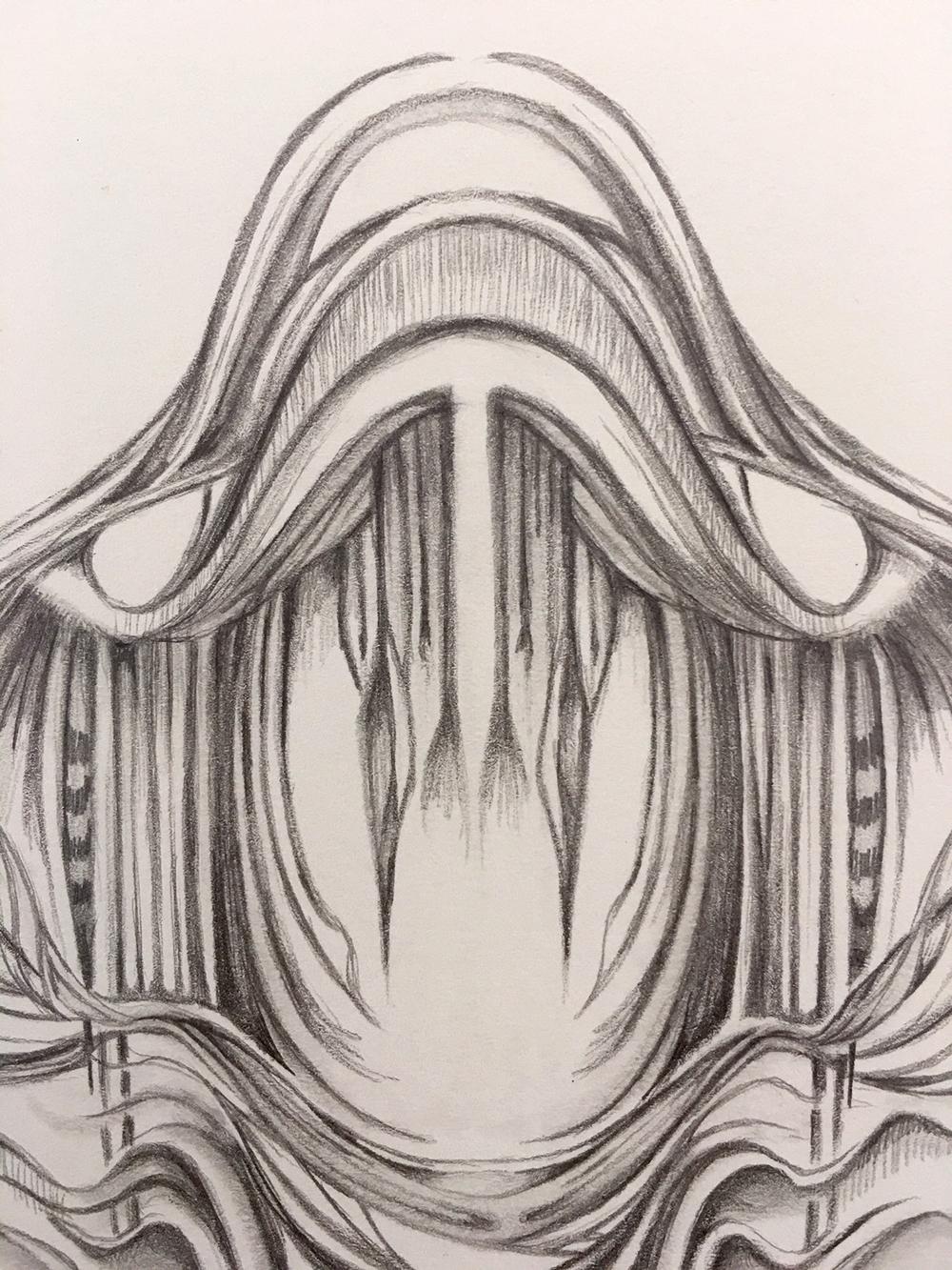 Field Sketch 15 - Detail