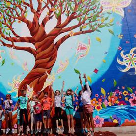 New Brighton BP Mural 2019 pics 7 -31 -