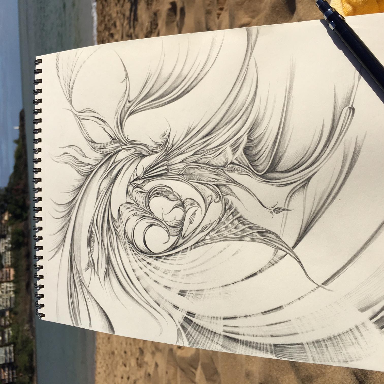 Field Sketch 6 - Context Shot