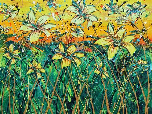 """Sparks"" -  original painting"