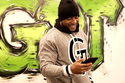 """GPT """"Gifted"""" Pocket Pullover Hoodie"""