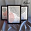 Thumbnail: Kit 3 Quadros Minimalistas Linhas - Coleção Mulheres