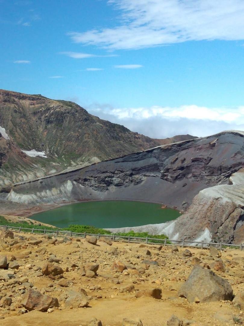 Mt.ZAO volcanic lake お釜